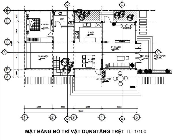 Thiết Kế Biệt Thự Vườn Mini 2 Tầng