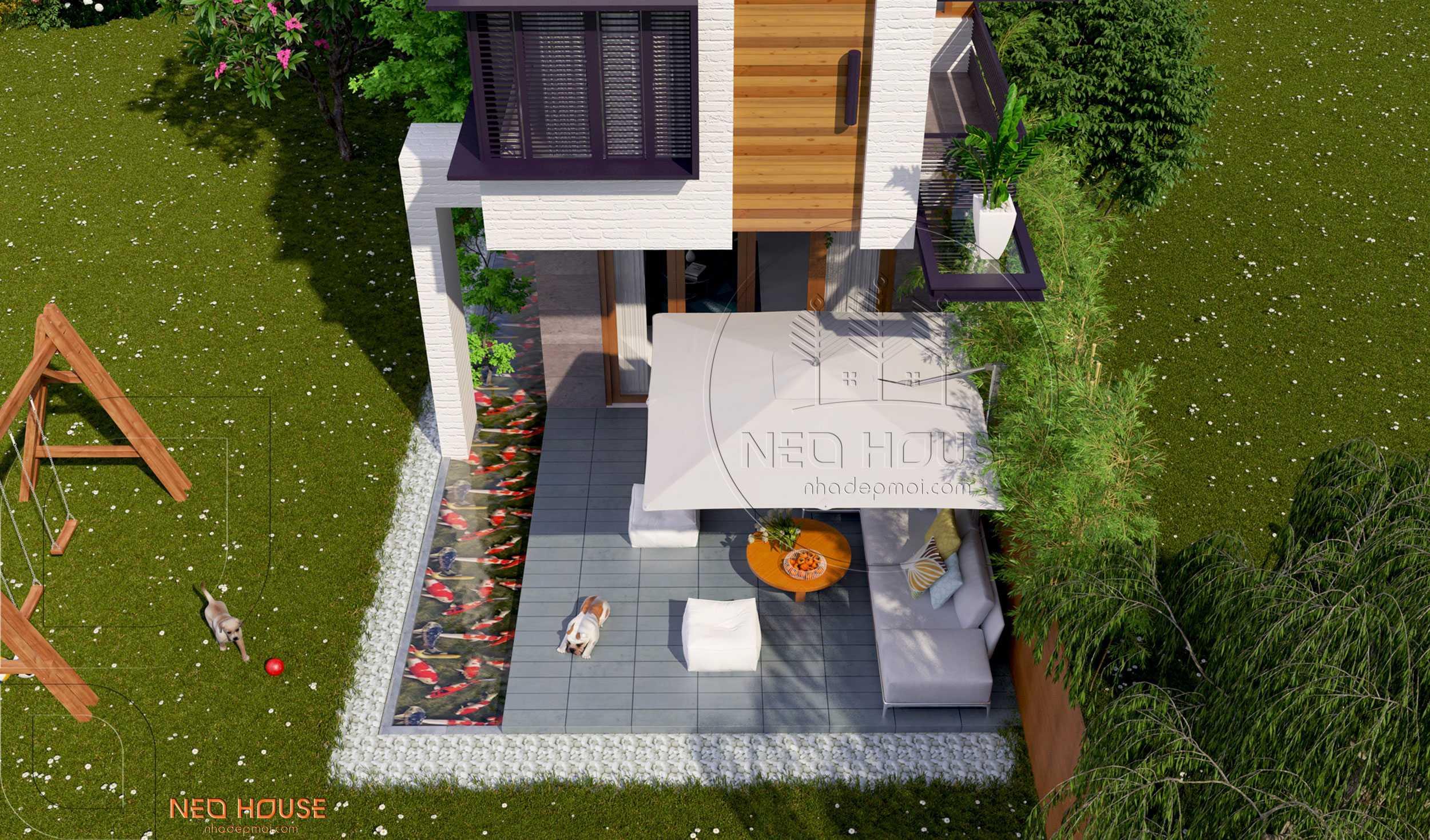 Thiết kế nhà phố hiện đại tại Đà Nẵng