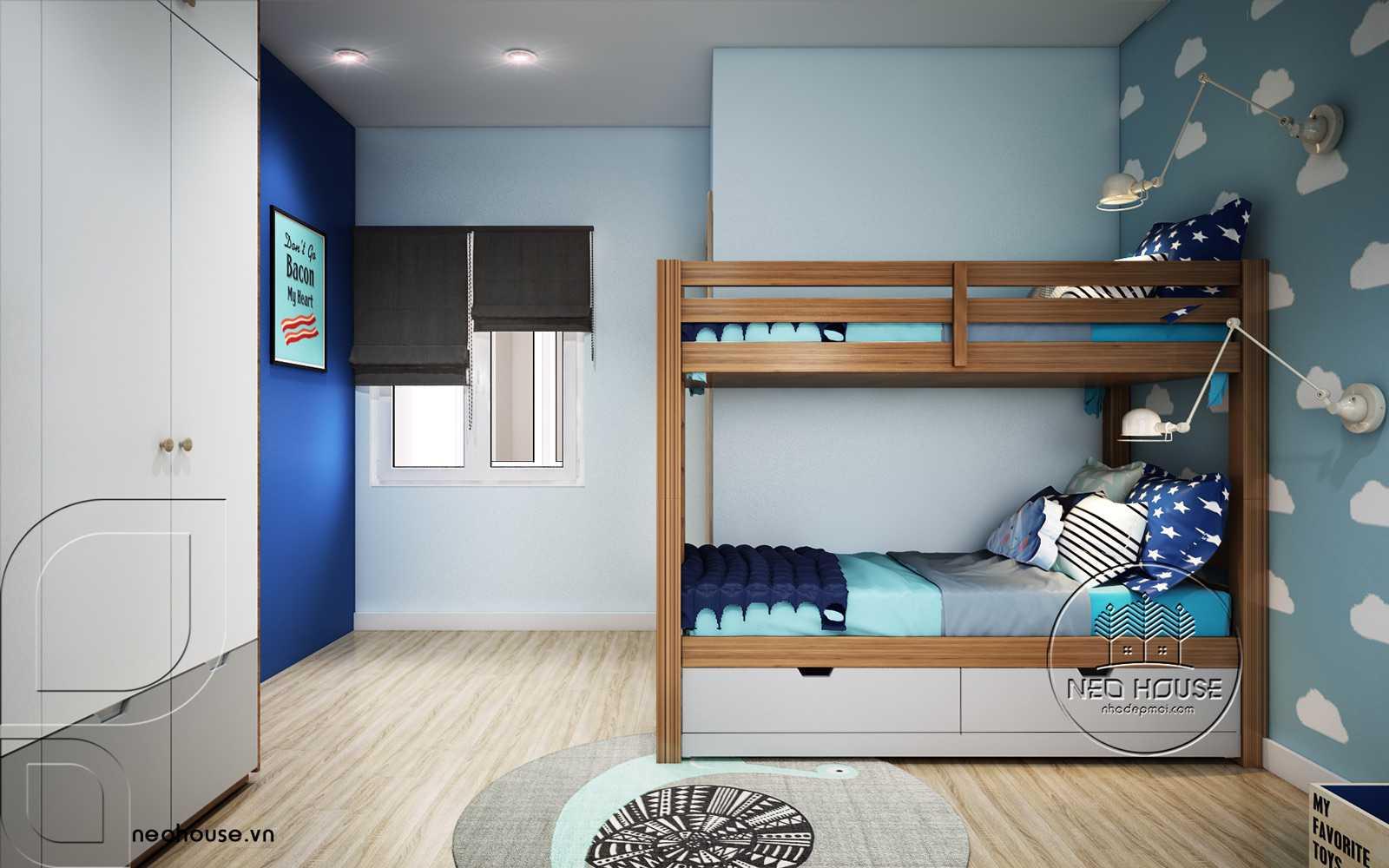 Nội thất hiện đại phòng ngủ