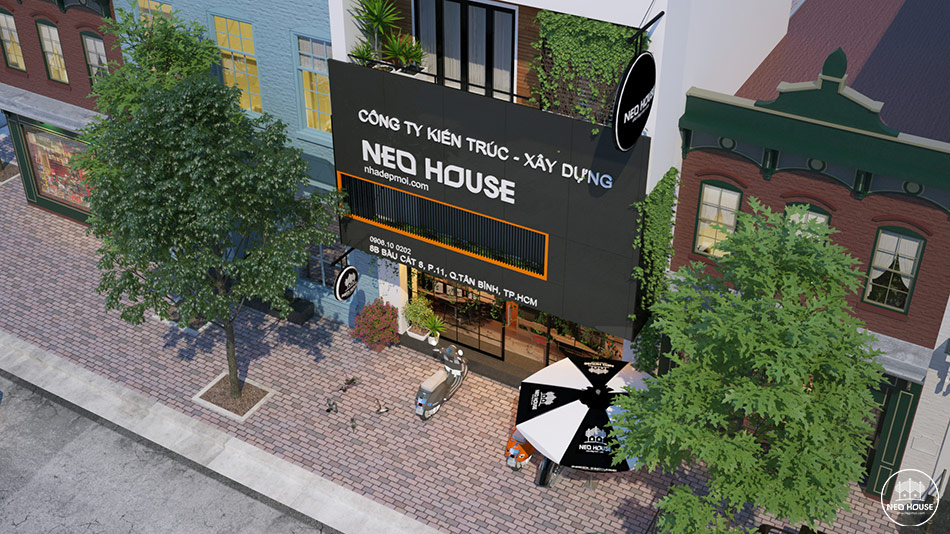 mặt tiền công ty Neohouse