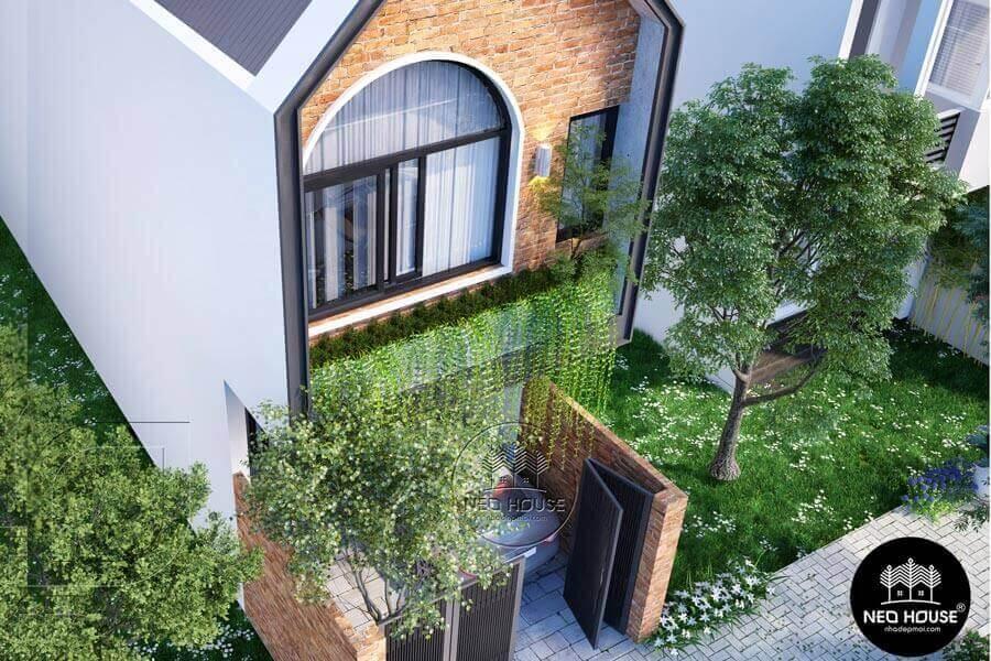 Thiết Kế Nhà Phố Đẹp 2 Tầng 28,8m2 Tại Bình Tân, Tp. HCM – NP03