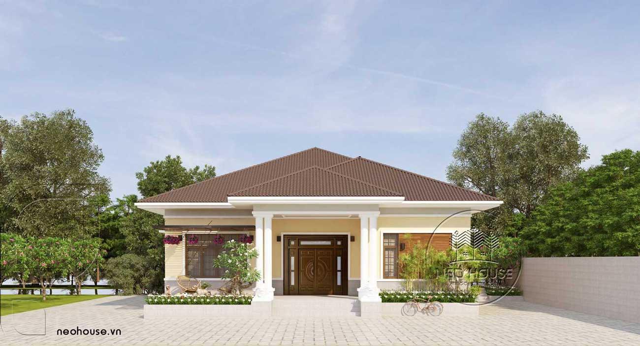 Thiết Kế Biệt Thự Vườn - BTV02