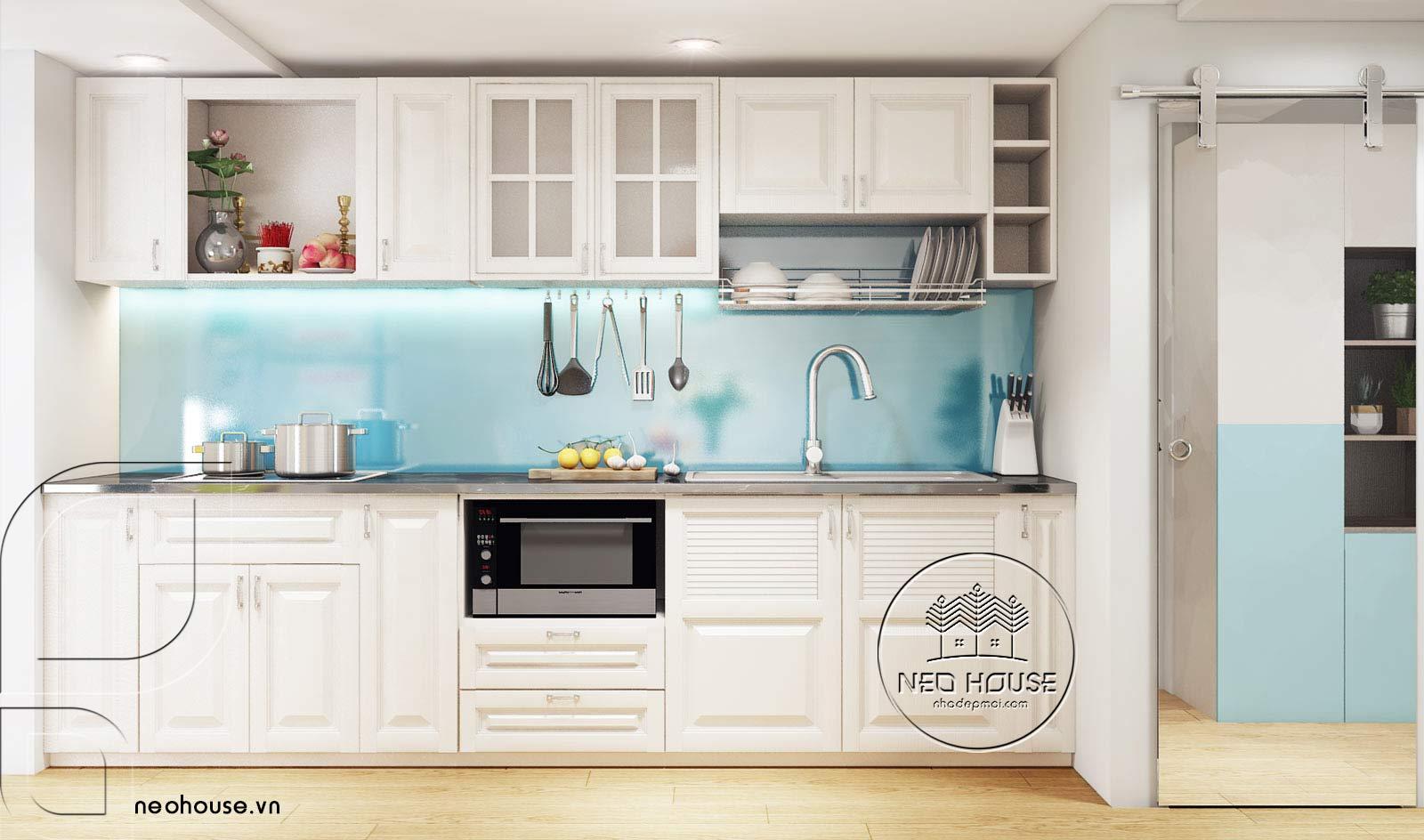 Thiết kế nội thất căn hộ chung cư 70m2. Ảnh 4
