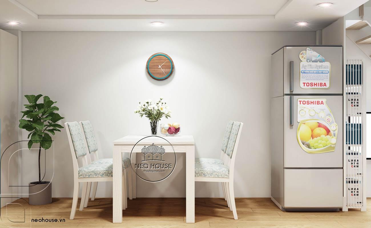 Thiết kế nội thất căn hộ chung cư 70m2. Ảnh 6