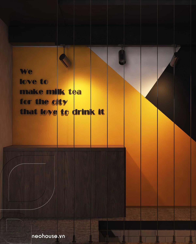 Không gian quầy bar