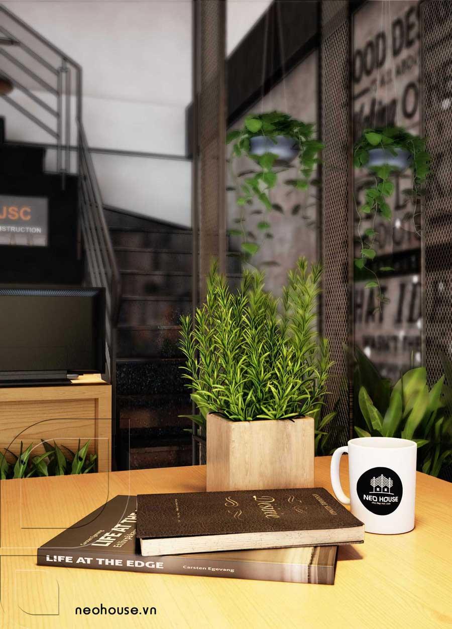Thiết kế nội thất văn phòng hiện đại tầng trệt. Ảnh 3