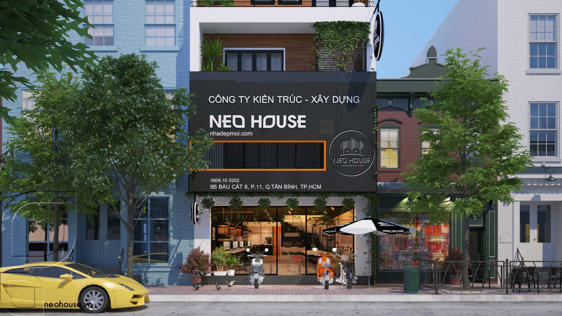 công ty thiết kế xây dựng NEOHouse JSC