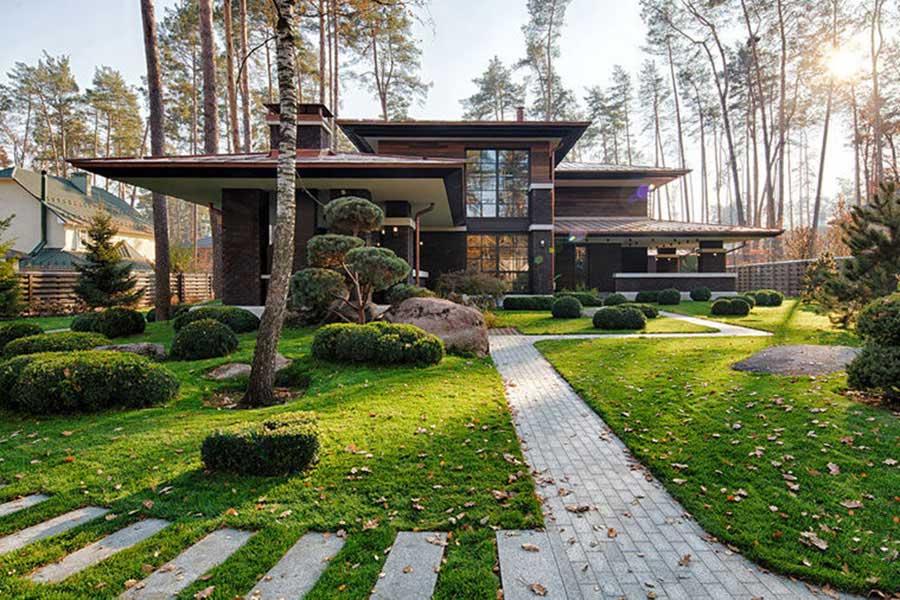 Thiết Kế Nhà Vườn Hiện Đại Kiến Trúc Nhật