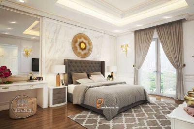 thiết kế nội thất bán cổ điển - ntb01