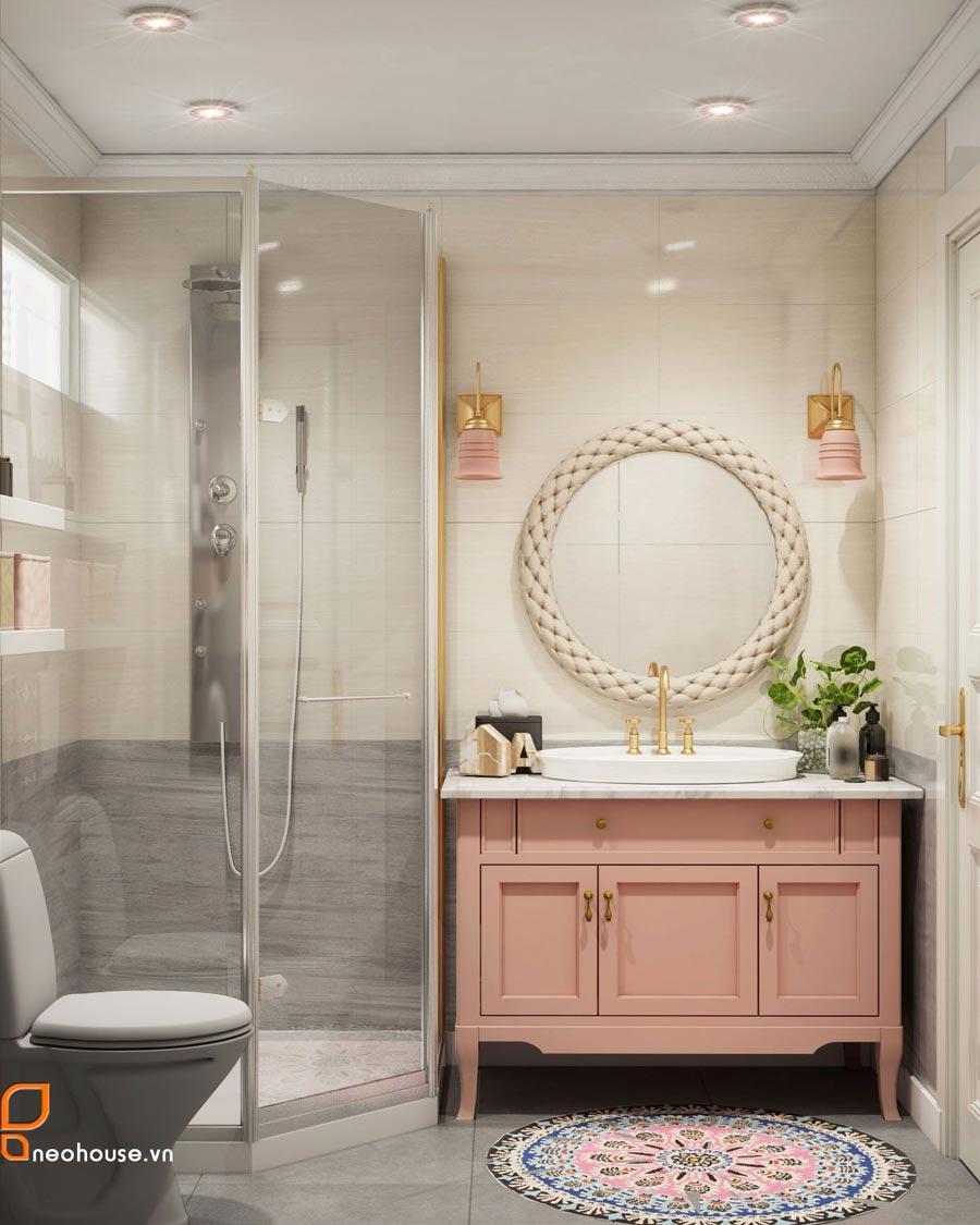 mẫu thiết kế nội thất phòng tắm Toilet 2