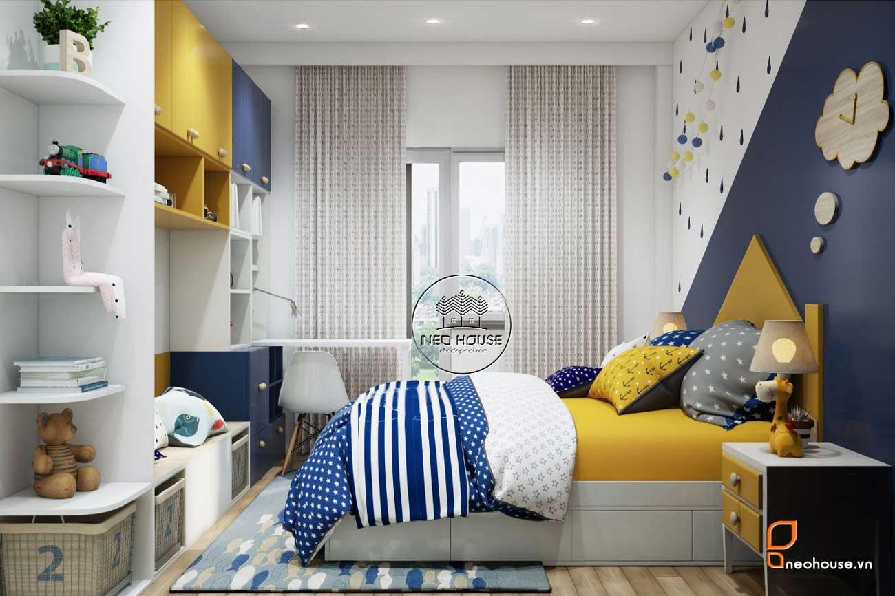 Phòng ngủ bé trai út