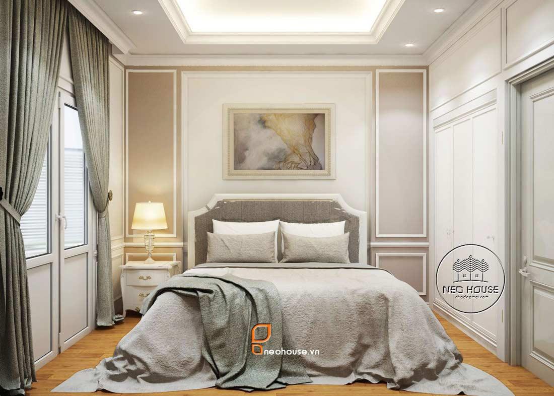 Nội thất phòng ngủ đẹp bán cổ điển