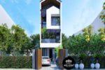 Mẫu Nhà Phố 3 Tầng Đẹp 4x16m Tại Hóc Môn Tp. Hồ Chí Minh – NP05