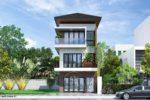 Thiết Kế Nhà Phố 3 Tầng Hiện Đại Mặt Tiền 6m Tại Tp. Hồ Chí Minh – NP02