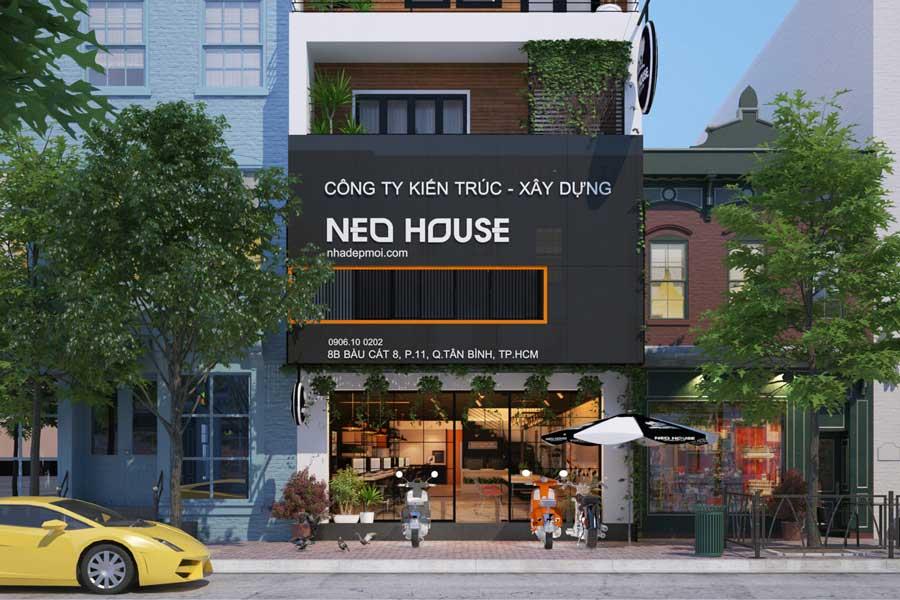 Thiết kế nội thất văn phòng làm việc NEOHouse. Ảnh bìa