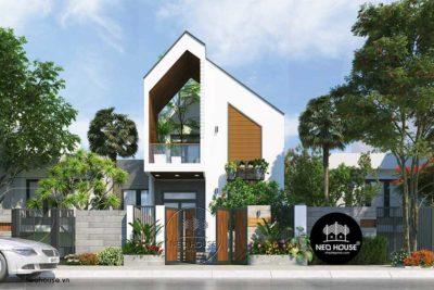 Mẫu Nhà Phố 2 Tầng Đẹp Hiện Đại Và Độc Đáo 7x21m Tại Bình Thuận – NP08