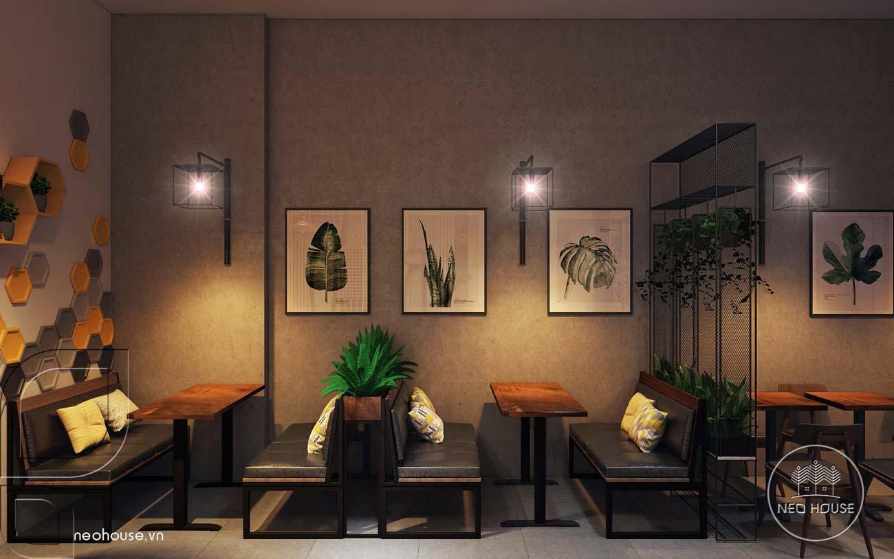 Thiết kế nội thất quán trà sữa RiRo. Ảnh 8
