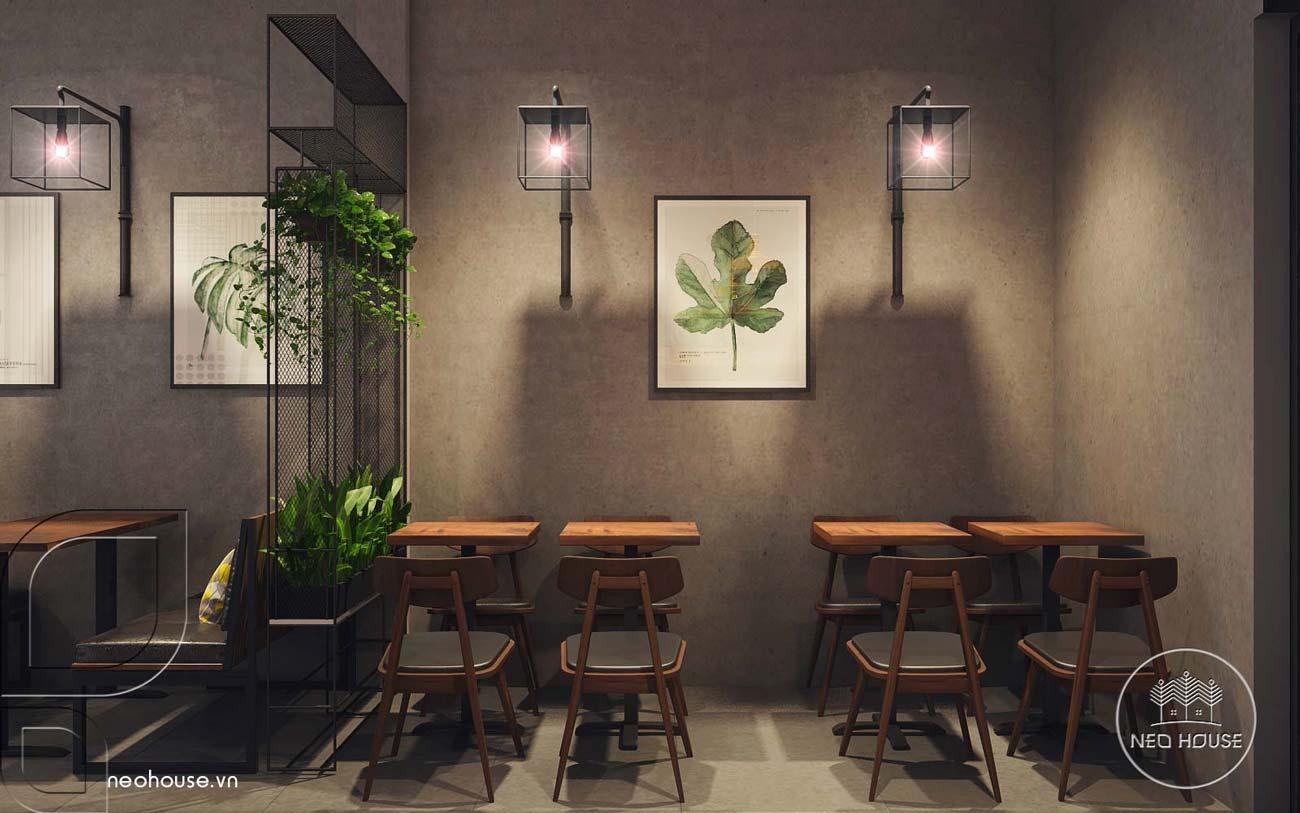 Thiết kế nội thất quán trà sữa RiRo. Ảnh 4