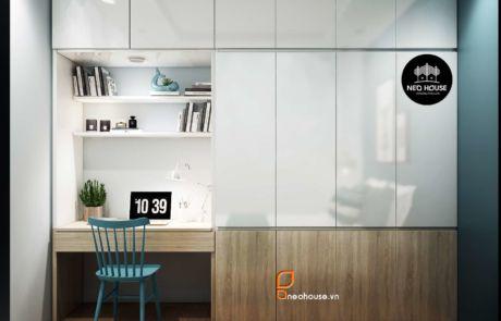 Thiết kế phòng ngủ căn hộ sang trọng tại hcm