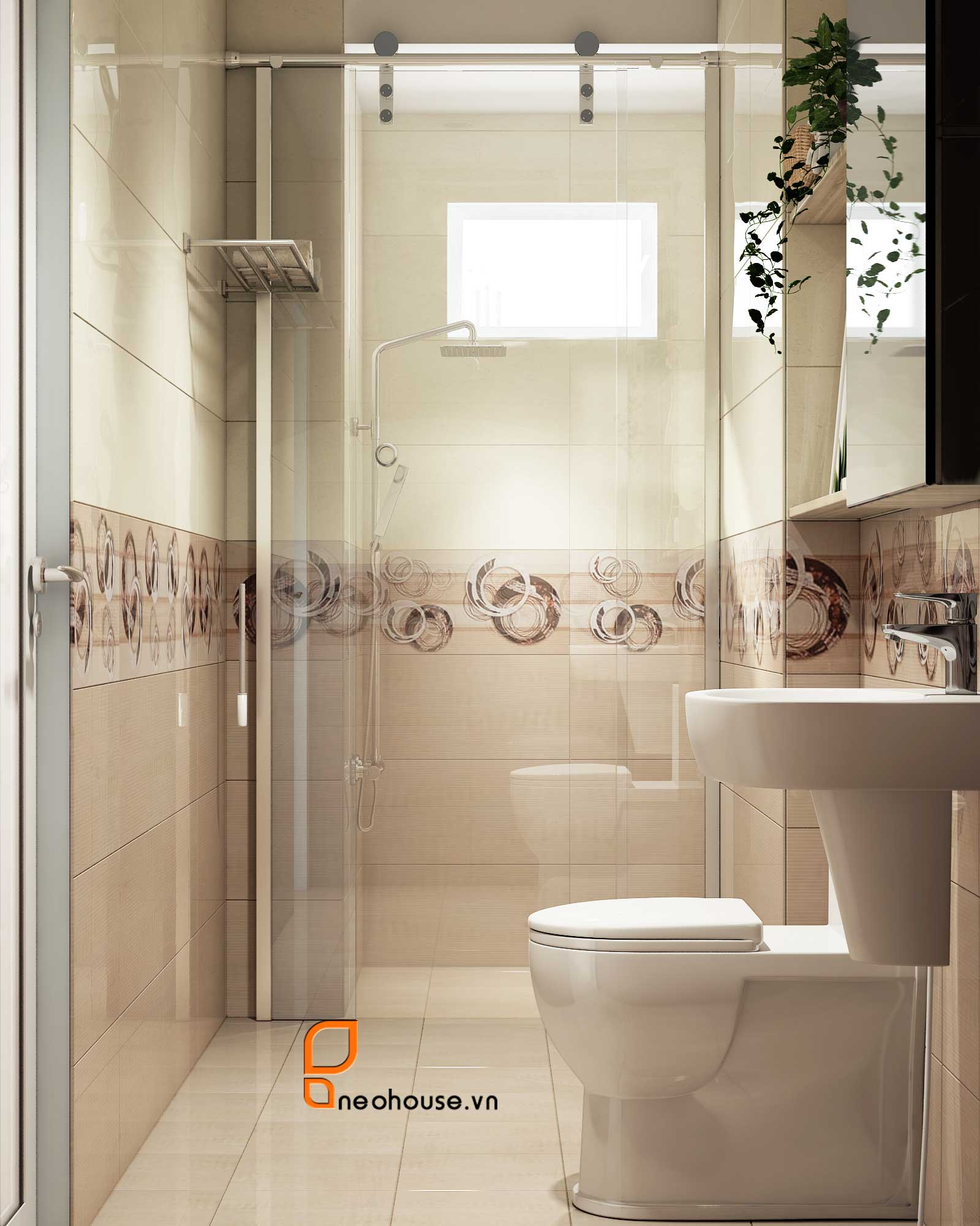 Tổng hợp Nội thất phòng tắm Toilet