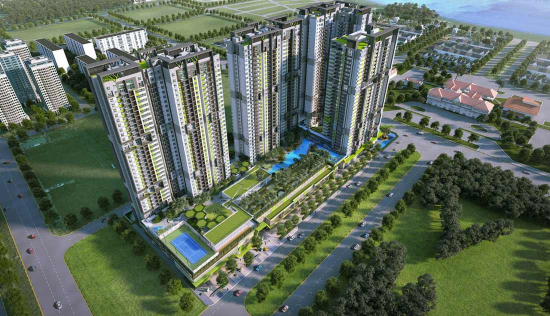 Phối cảnh chung cư cao cấp Duplex. Ảnh 1