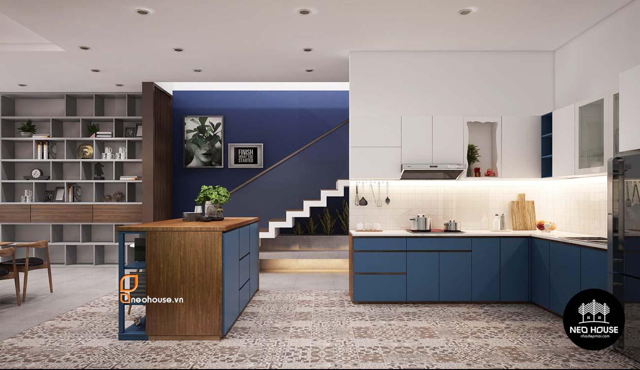 Mẫu thiết kế nội thất nhà phố hiện đại