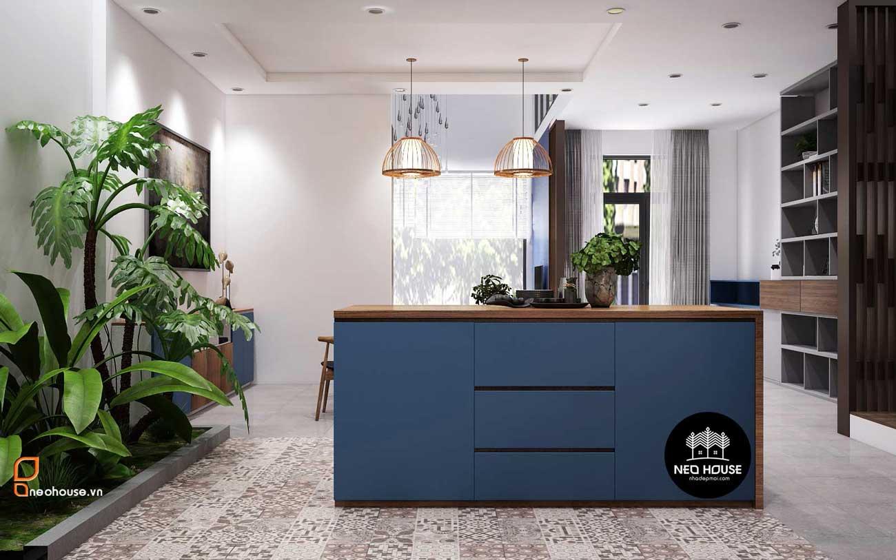 Mẫu thiết kế nội thất nhà phố hiện đại 3