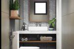 Thiết kế nội thất phòng tắm tolet neohouse