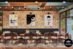 Nội ThấtQuán Cafe Sân Thượng Tại HCM-NTC01