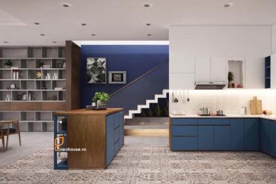 thiết kế nội thất căn hộ phòng khách Neohouse 8B Bàu Cát 8, Phường 11, Quận Tân Bình, Tp. HCM