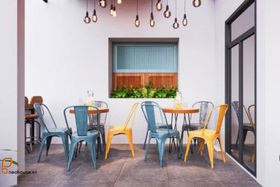 Thiết Kế Nội ThấtQuán Cafe Cao Cấp Tại HCM – NTC01