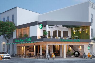 Thiết Kế Quán Cafe BonJour