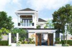 Mẫu Biệt Thự Vườn 2 Tầng Đẹp Mái Thái Chữ L Trọn Gói 1.5 Tỷ – BTV07