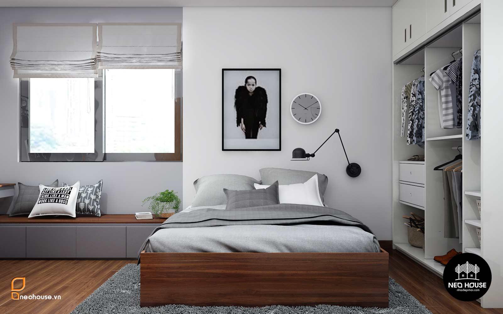 thiết kế nội thất phòng ngủ bé trái neohouse