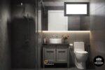 thiết kế nội thất phòng tolet Duplex