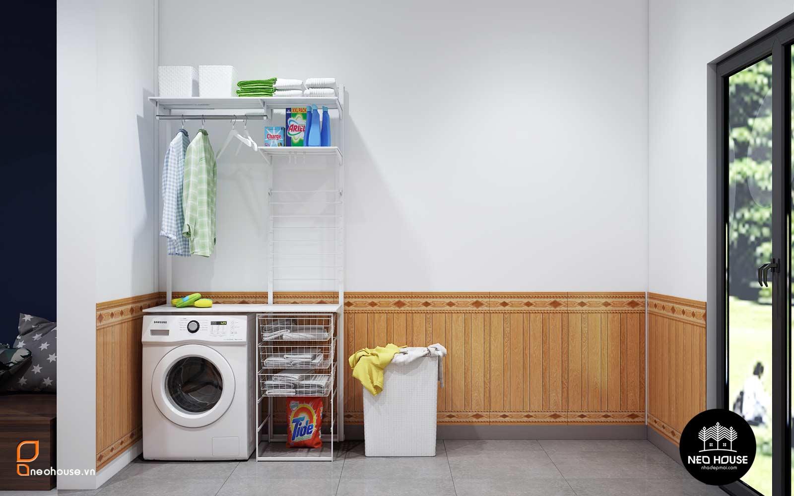 thiết kế nội thất phòng giặt ủi neohouse