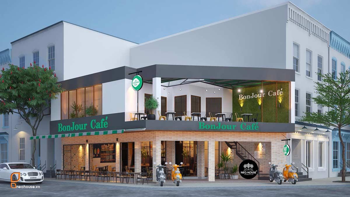 Phối cảnh quán cafe