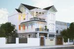 Thiết Kế Biệt Thự Mái Thái DT 9x18m2 Tại Quận 2-BT11A