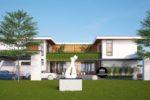 Thiết Kế Biệt Thự 2 Tầng Kết Hợp Văn Phòng Kinh Doanh Tại Tây Ninh – BT12