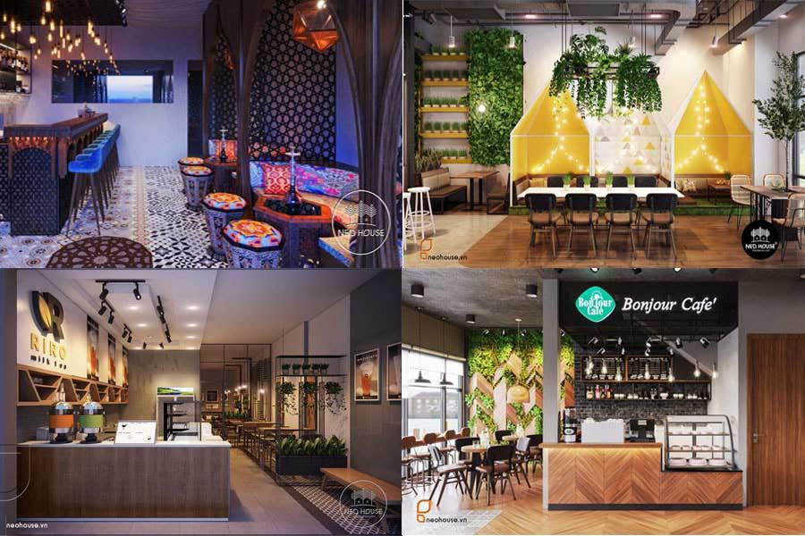 Tổng Hợp Mẫu Thiết Kế Quán Cafe-Trà Sữa Đẹp Tại Việt Nam