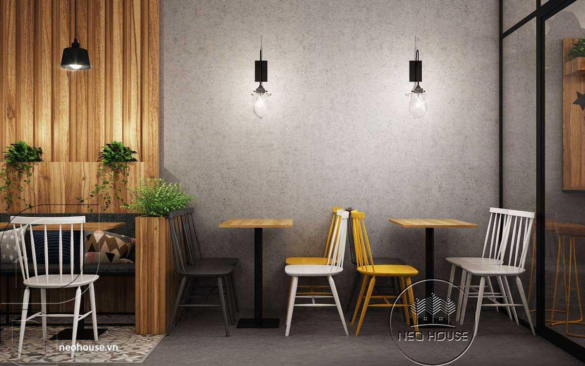 Mẫu thiết kế nội thất quán trà sữa Nova Tea. Ảnh 4
