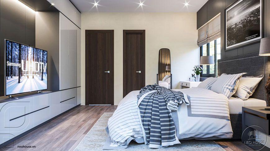 Thiết kế nội thất phòng ngủ.