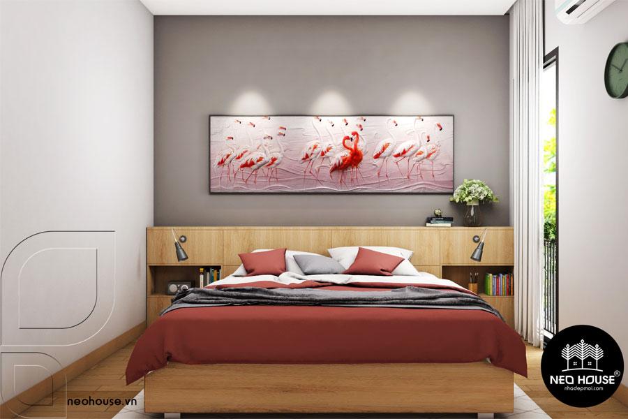 Thiết Kế Nội Thất Phòng Ngủ Master Nhà Phố Hiện Đại Tại Bình Thuận
