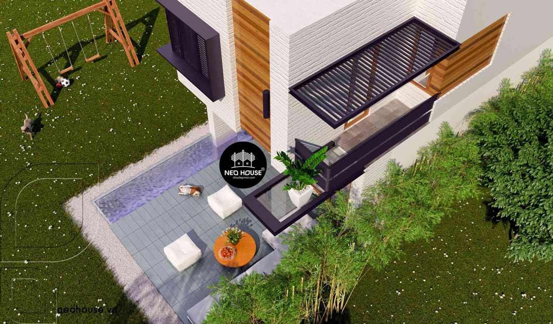 Mẫu thiết kế nhà phố đẹp tại Đà Nẵng
