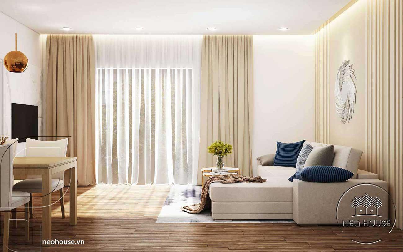 Thiết kế nội thất chung cư cao cấp Ruby. Ảnh 2