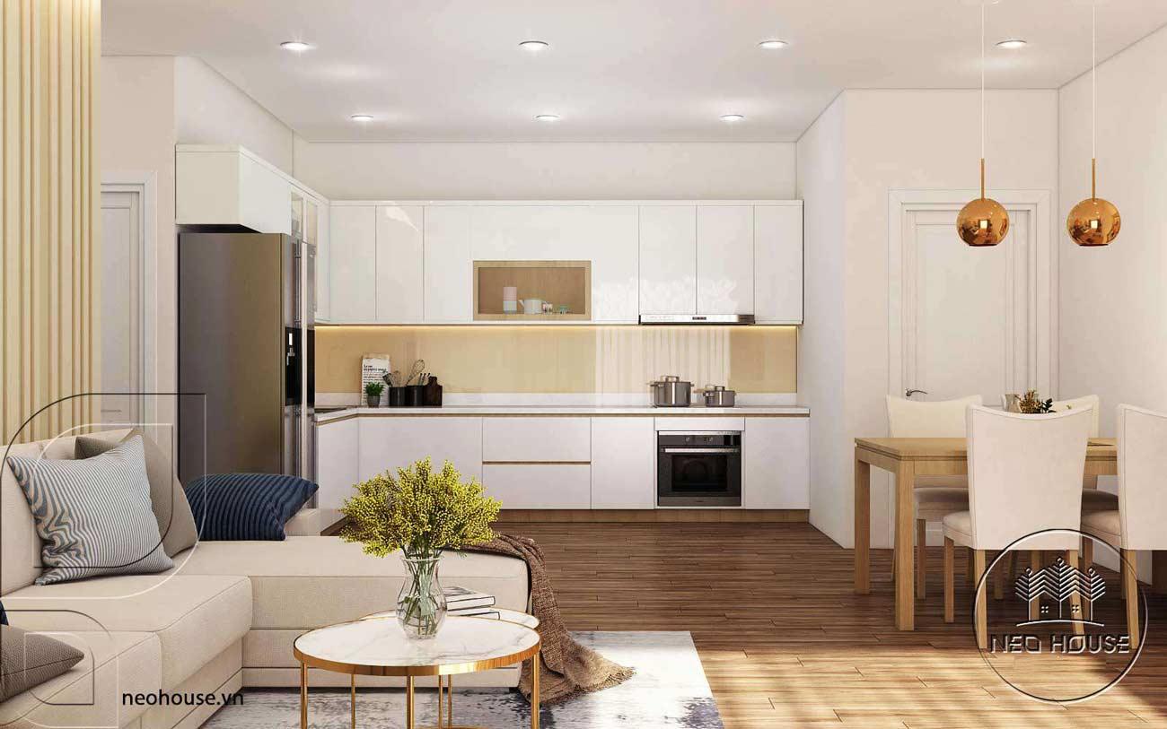 Thiết kế nội thất chung cư cao cấp Ruby. Ảnh 4