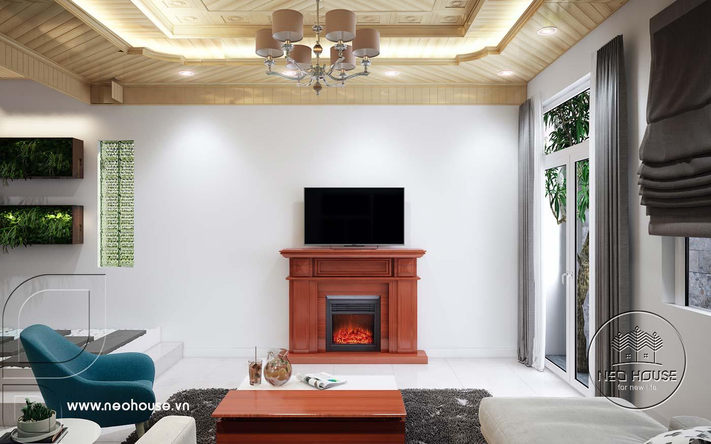 Thiết kế nội thất nhà phố hiện đại. Ảnh 3