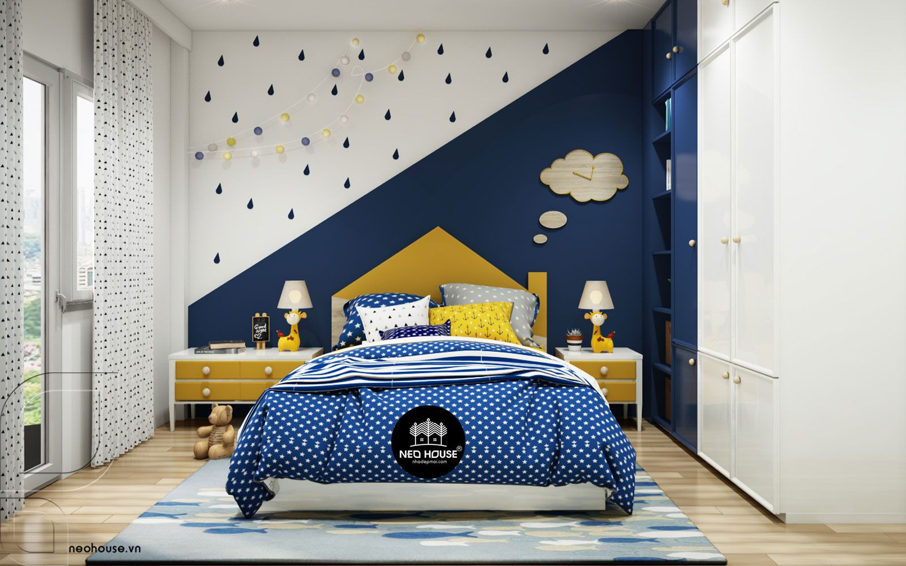 Mẫu thiết kế nội thất phòng ngủ hiện đại. Ảnh 4