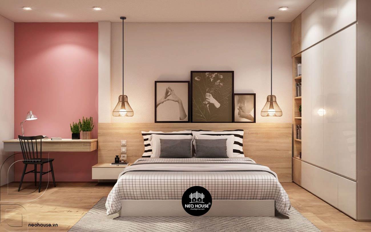 Mẫu thiết kế nội thất phòng ngủ hiện đại. Ảnh 5