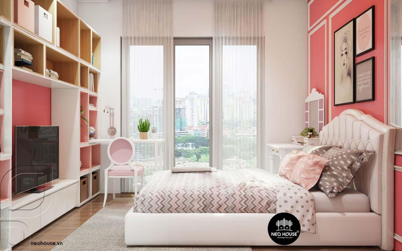 Mẫu thiết kế nội thất phòng ngủ hiện đại. Ảnh 6